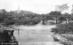 Shrewsbury, English Bridge 1903