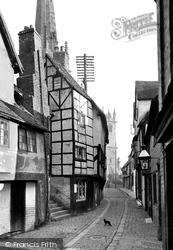 Shrewsbury, Fish Street 1924
