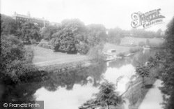 Shrewsbury, From Kingsland Bridge 1904