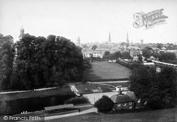 Shrewsbury, From The School 1896