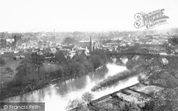 Shrewsbury, General View 1891