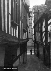 Shrewsbury, Grope Lane c.1950