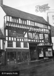 Shrewsbury, Henry Vii House c.1950