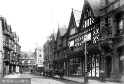 Shrewsbury, High Street 1911