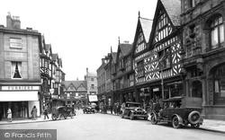 Shrewsbury, High Street 1931