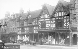 Shrewsbury, High Street c.1900