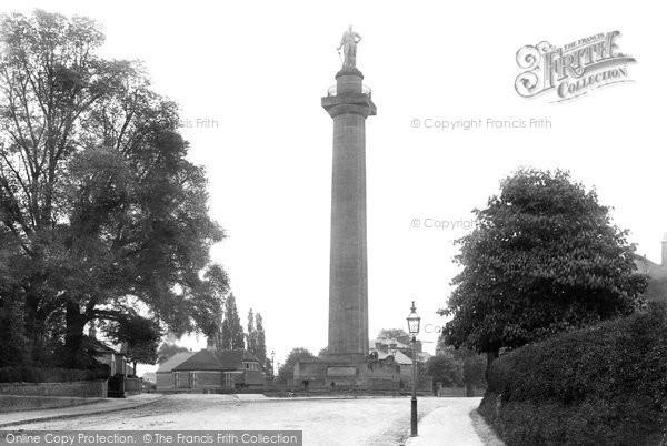 Photo of Shrewsbury, Hill's Monument 1891