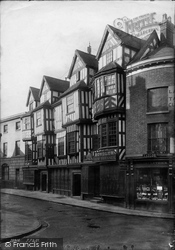 Shrewsbury, Irelands Mansion 1891