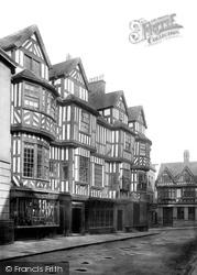 Shrewsbury, Irelands Mansion 1891