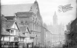 Shrewsbury, Market Hall 1891