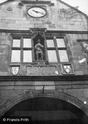 Shrewsbury, Market Hall Clock c.1950