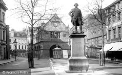 Shrewsbury, Market Square 1891