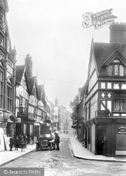 Shrewsbury, Milk Street 1911