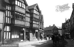 Shrewsbury, Old Houses 1891