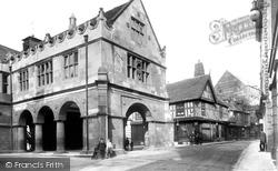 Shrewsbury, Old Market Hall And Princess Street 1911