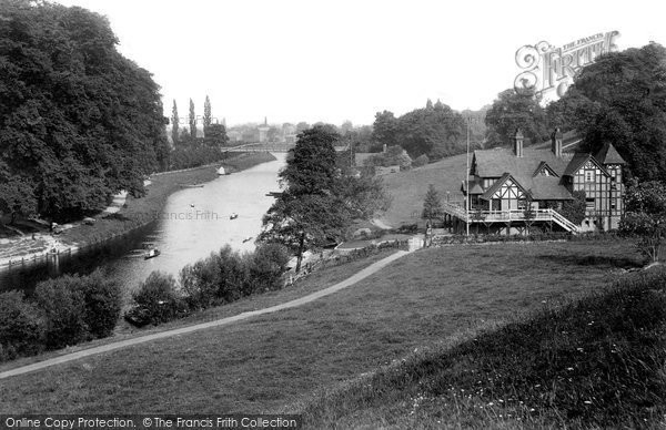 Photo of Shrewsbury, On The River Severn 1911