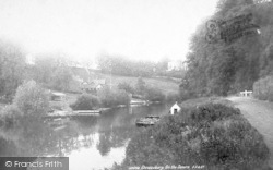 Shrewsbury, On The Severn 1896