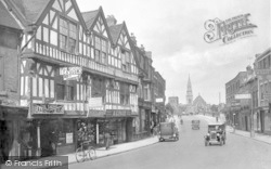 Shrewsbury, Over The English Bridge 1931