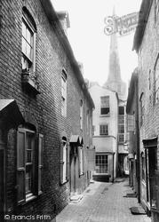 Shrewsbury, Peacock Passage 1891