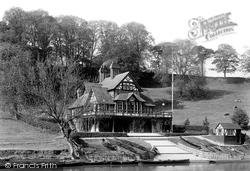 Shrewsbury, Pengwera Boat House 1891