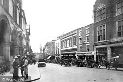 Shrewsbury, Pride Hill 1931
