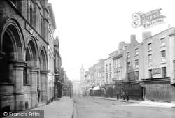 Shrewsbury, Pride Hill And Post Office 1891