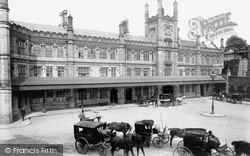 Shrewsbury, Railway Station 1904