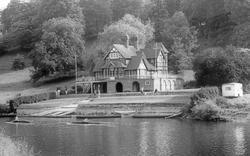 Shrewsbury, School Boat House c.1960