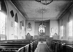 Shrewsbury, St Alkmund's Church Interior 1891
