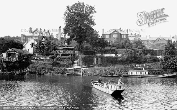 Photo of Shrewsbury, The Boat House Inn And The Ferry 1911