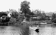 Shrewsbury, the Boat House Inn and the Ferry 1911