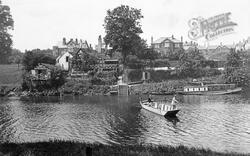 Shrewsbury, The Boat House Inn And The Ferry 1911