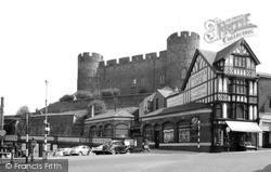Shrewsbury, The Castle c.1960