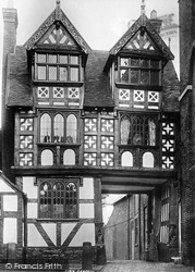 Shrewsbury, The Council House Gate 1891