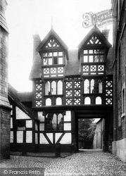 Shrewsbury, The Council House Gate 1896