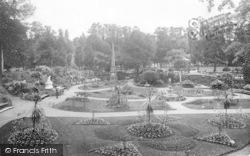 Shrewsbury, The Dingle 1923