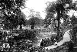 Shrewsbury, The Dingle, Quarry Park 1911