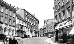 Shrewsbury, The Lion Hotel c.1955