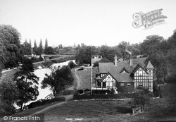 Shrewsbury, The Pengwera Boat House 1896