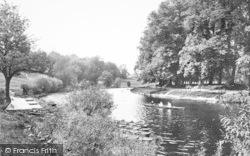 Shrewsbury, The River Severn 1923