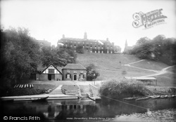Shrewsbury, The School And Ferry 1896