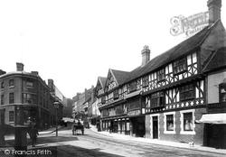 Shrewsbury, Unicorn Hotel 1891