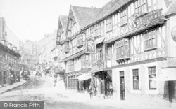 Shrewsbury, Unicorn Inn c.1890