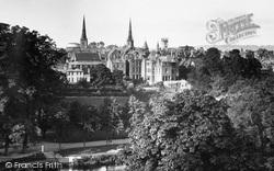 Shrewsbury, View From The Schools c.1935