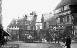 Shrewsbury, Wyle Cop 1896
