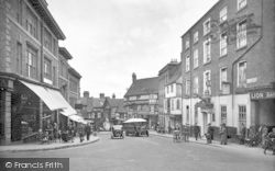 Shrewsbury, Wyle Cop 1931