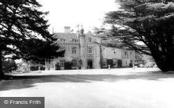 Beckett Hall, Royal Military College c.1965, Shrivenham