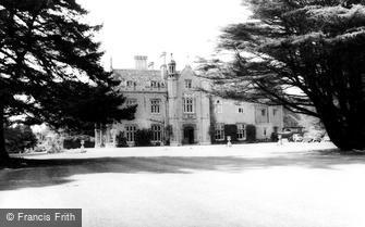 Shrivenham, Beckett Hall, Royal Military College c1965
