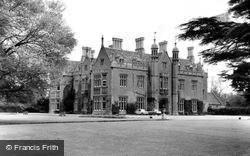 Beckett Hall, Royal Military College Of Science c.1965, Shrivenham
