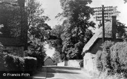 Faringdon Road c.1950, Shrivenham